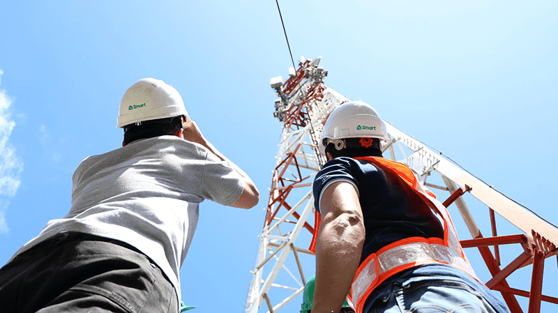 Smart fast tracks mobile network rollout with the help of 6 tower companies