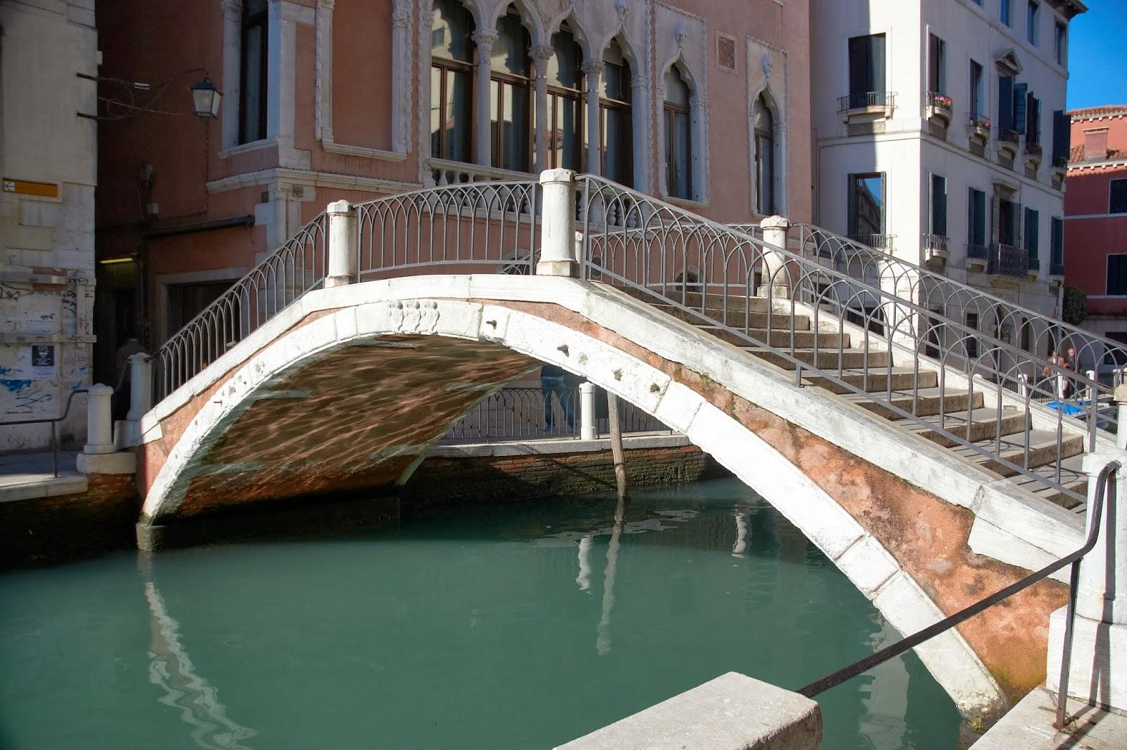 kolor wody w Wenecji