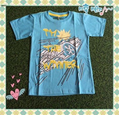 Jual Baju Anak Kaos Im The WInner (Kids) - 12362