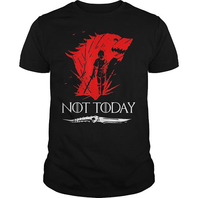 Death Not Today Valyrian Steel T Shirts Hoodie Sweatshirt 1.jpg