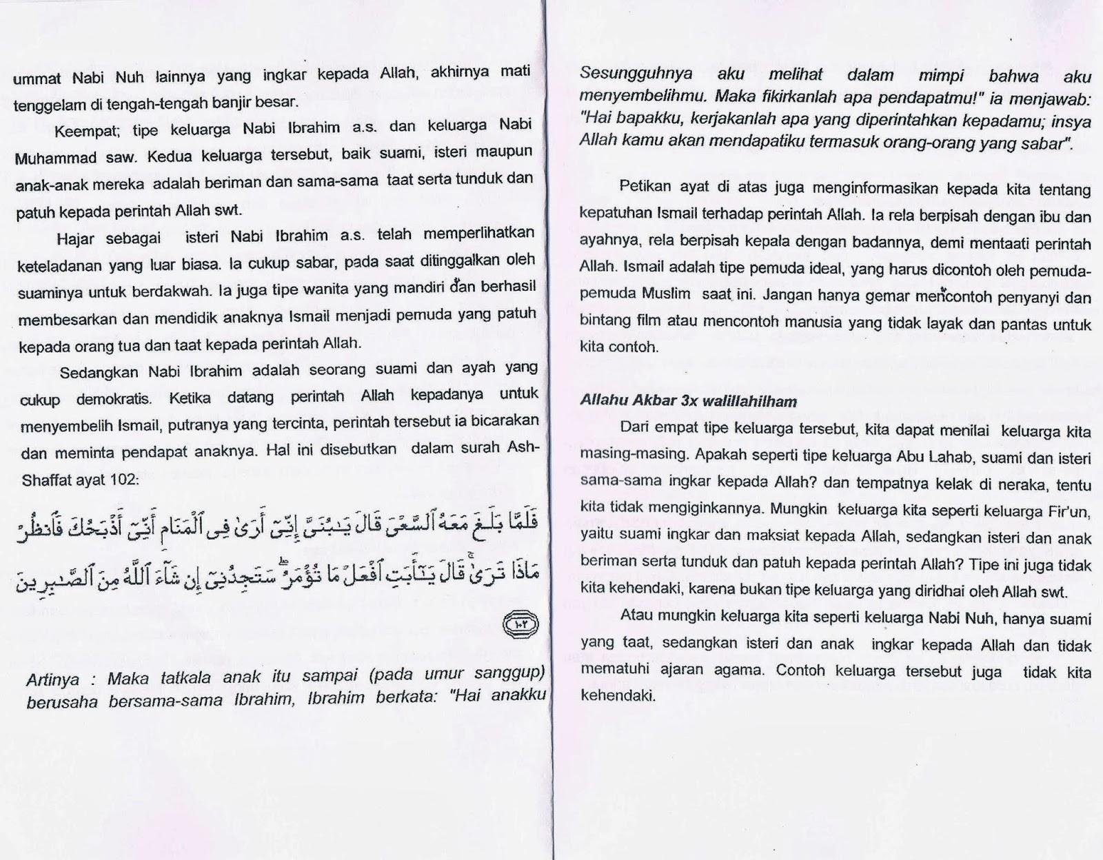 Image Result For Teks Khutbah Idul Adha