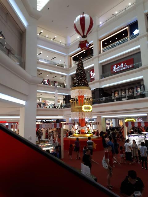 Jalan-jalan di Mall Terbesar Johor Bahru Malaysia