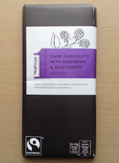 waitrose 1 dark chocolate with raspberry and blackberry