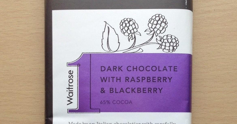 Waitrose 1 Dark Chocolate With Raspberry Blackberry