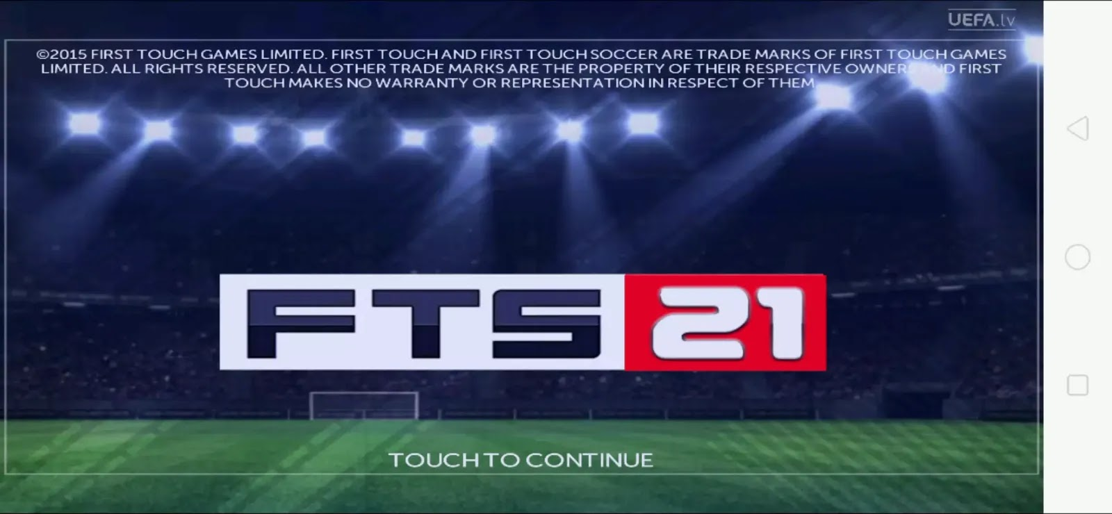 First Touch Soccer 2021 Fts 21 Apk Obb Data Download Latest Players