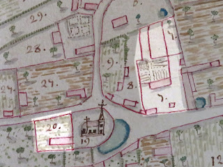 plan XVIIIe siècle Corny Eure 27