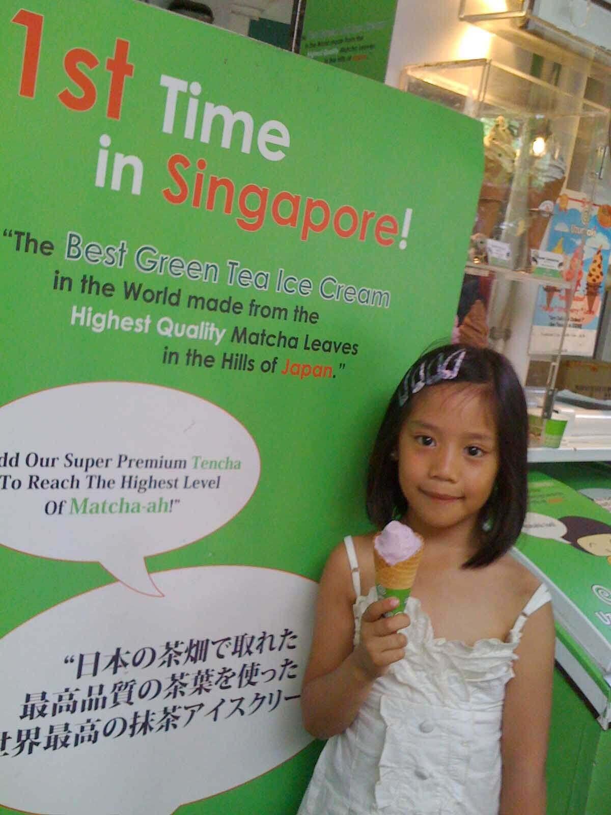 Uzumaki Ice Cream, singapore