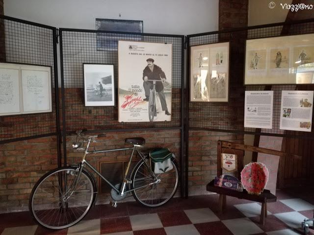 Interno della Mostra dedicata a Giovannino Guareschi