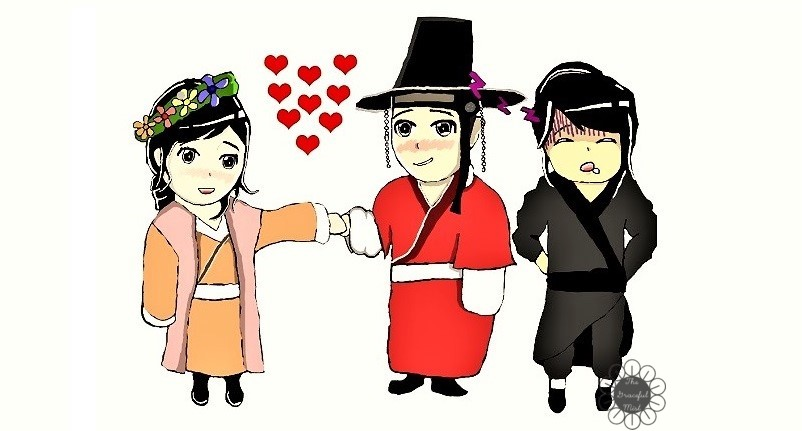 "Spoiler-Free Korean Drama Review: ""Love in the Moonlight""/""Moonlight Drawn by the Clouds"" - KDramas - Blog - Blog Post by @TheGracefulMist (www.TheGracefulMist.com) - Fan Art by Karlo G."