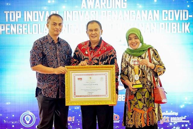 Pemkot Bandung Juara Pengelolaan Pengaduan Pelayanan Publik Nasional 2020.