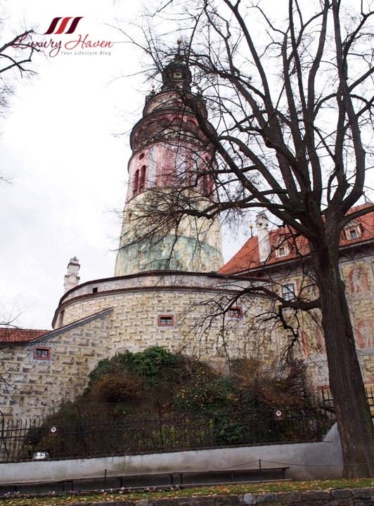 czech republic cesky krumlov castle tour