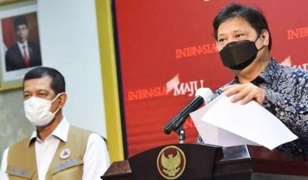 Pemerintah Berlakukan PSBB Ketat di Jawa-Bali, Airlangga: Masyarakat Jangan Panik