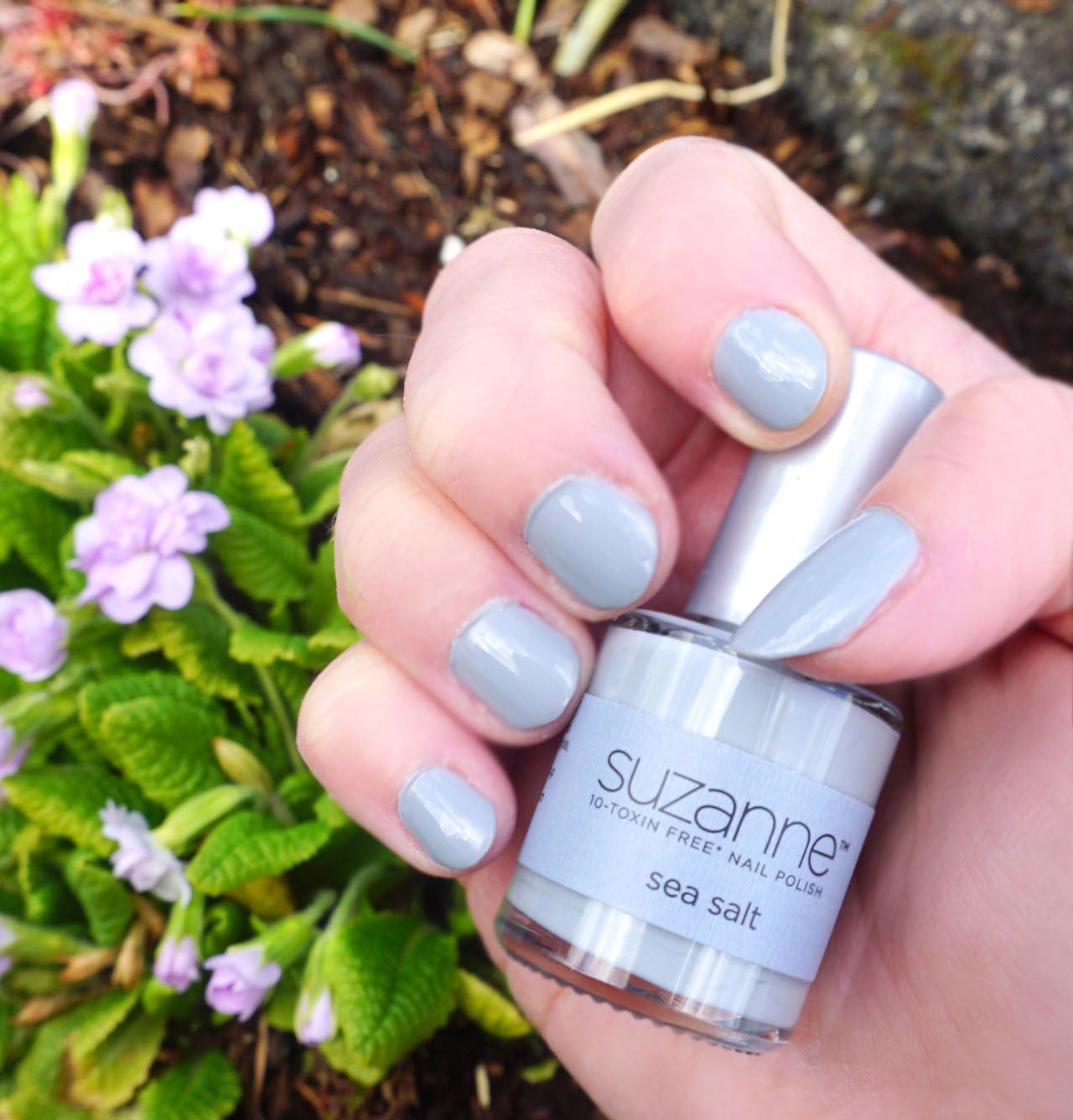 98a8144fda7 ... 10-toxin free nail polish available. Sea Salt is a dreamy muted pastel  greyed baby blue. Two coats gives completely opaque richly pigmented color.