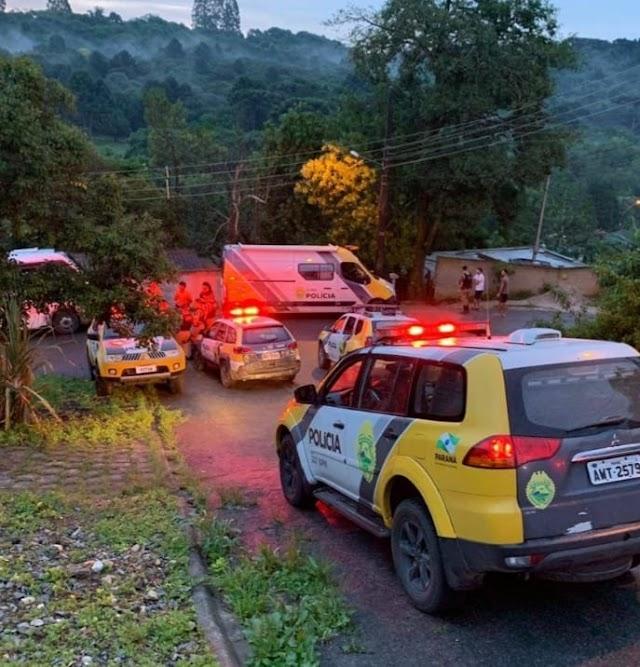 Polícia Militar mata bandido que trocou tiro com eles em Colombo