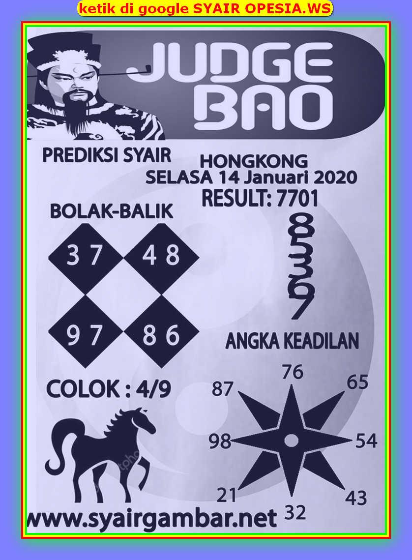 Kode syair Hongkong Selasa 14 Januari 2020 96