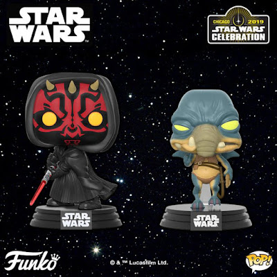 Star Wars Celebration 2019 Exclusive Pop! Vinyl Figures by Funko