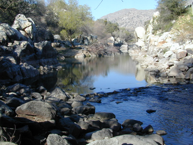 well off the beathen path: Kern River Hot Springs