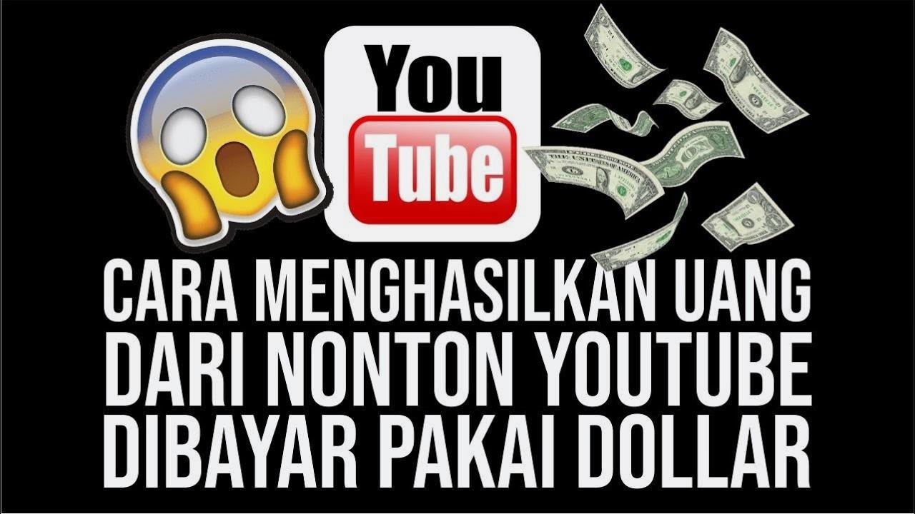 Aplikasi Nonton Youtube Dapat Uang