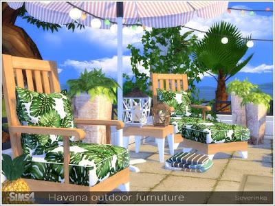 дворик в Sims 4, декор, уголок для отдыха в Sims 4, для отдыха, мебель для улицы, у бассейна, шезлонги, уличные зонты, Симс 4, для The Sims 4, The Sims 4, моды для Sims 4, предметы для Sims 4, Severinka_, Sims 4,