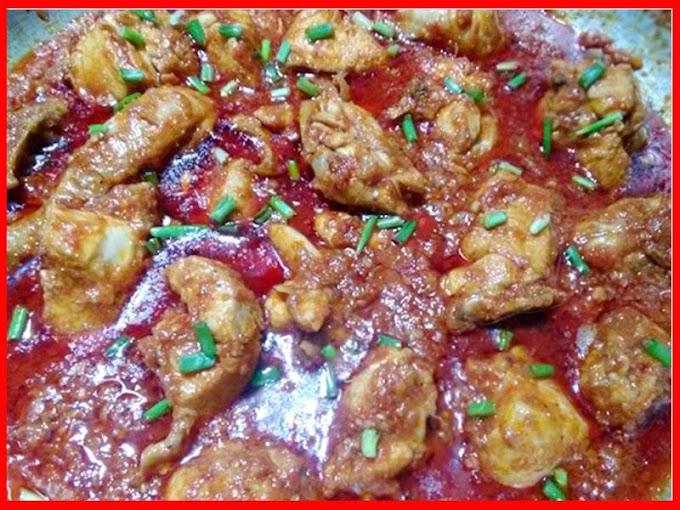 Spicy Schezwan Style Chinese Chicken