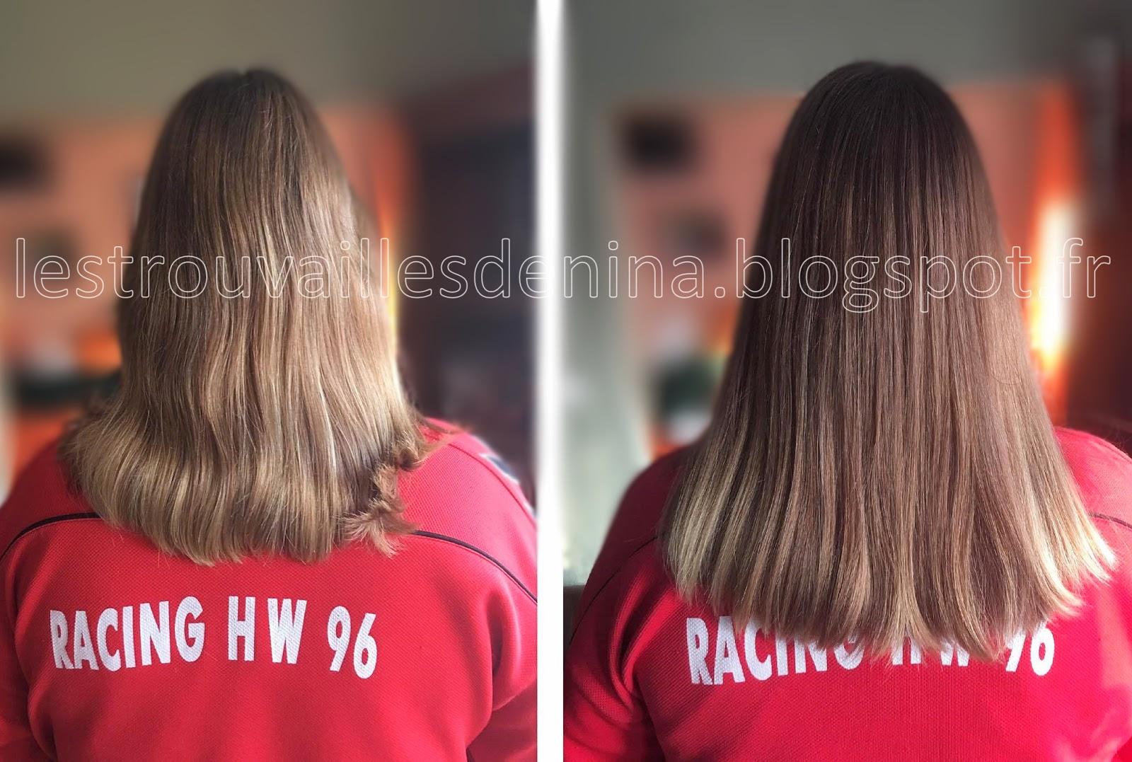 Pousse des cheveux 3 mois