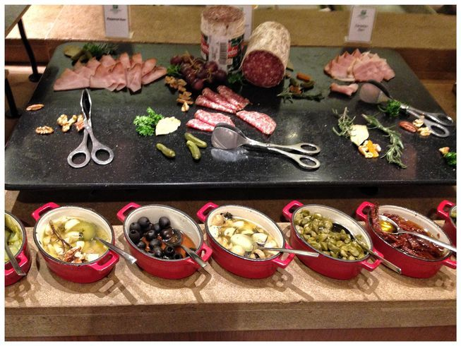 Cold cuts at Flavors Restaurant in Holiday Inn Makati