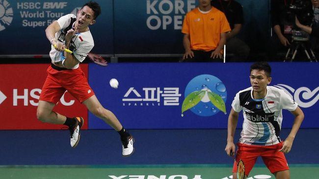 Tim Ganda Putra Indonesia Fajar Dan Rian Menang Open Korea 2019