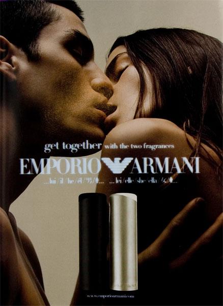 Emporio Armani (2001 - 2003) Giorgio Armani