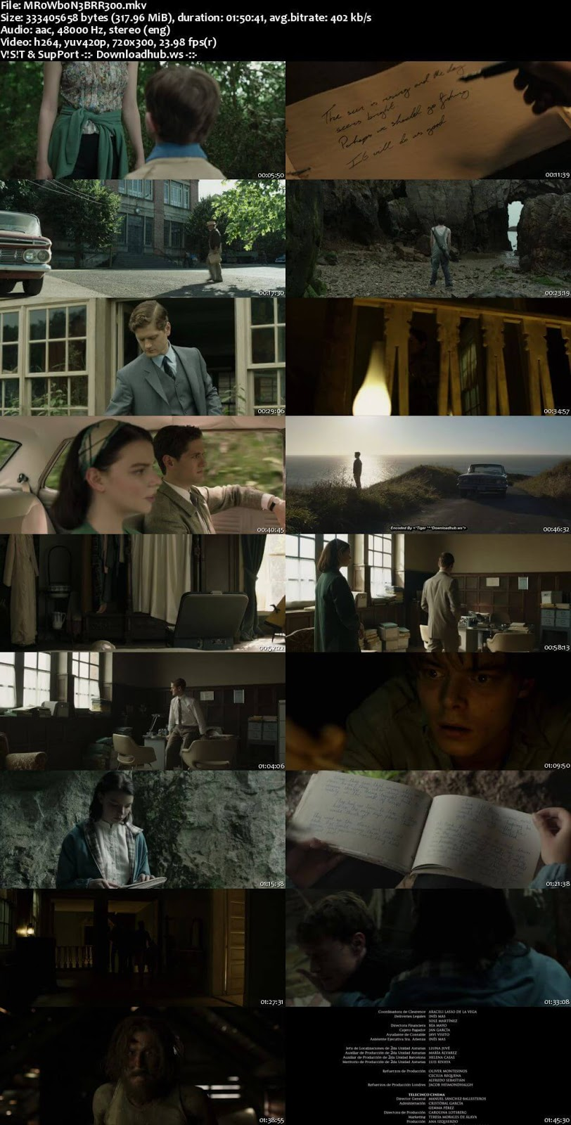 Marrowbone 2017 English 480p BRRip