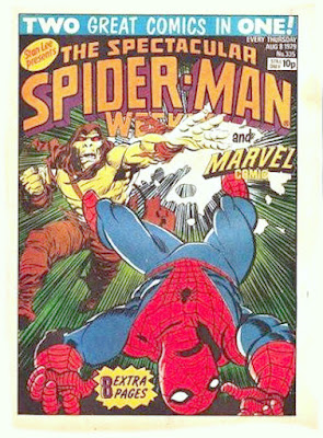 Spectacular Spider-Man Weekly and Marvel Comic, Carrion