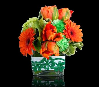 Custom Floral Arrangements For St. Patrick's Day Boston