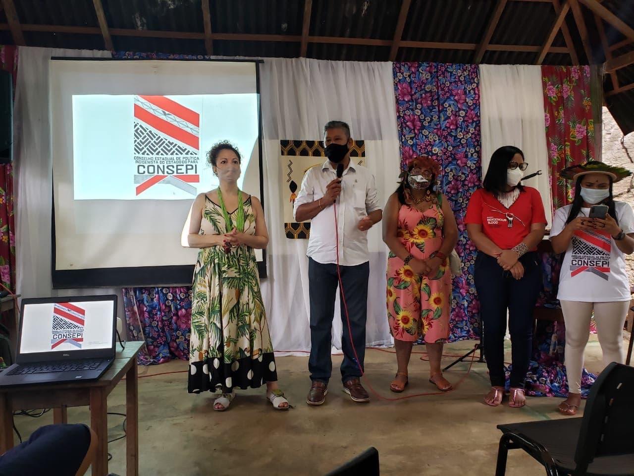 Conselho de Política Indigenista do Pará realiza reunião ordinária em Alter do Chão