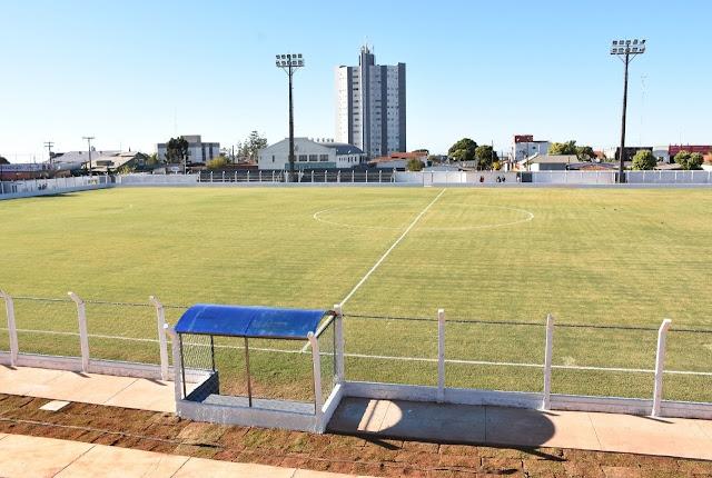 Estádio de Futebol Salvador Amado em Cristalina Goiás