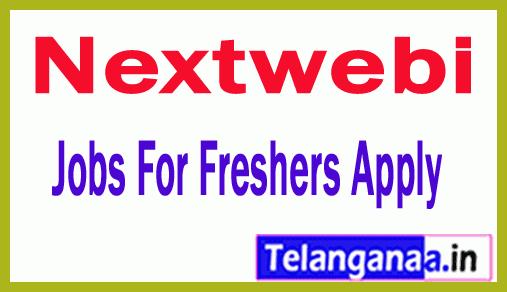 Nextwebi Recruitment Jobs For Freshers Apply