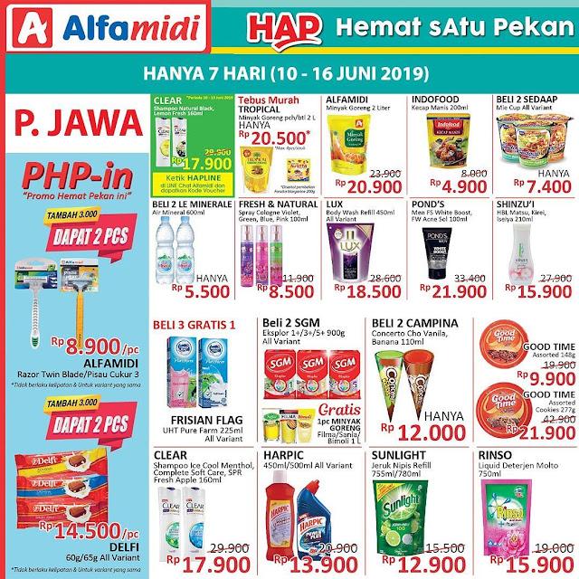 #Alfamidi - #Promo #Katalog Hemat Satu Pekan HAP Periode 10 - 16 Juni 2019