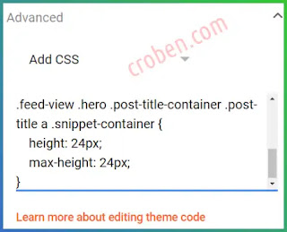 Emporio Post Snippet CSS Step 5