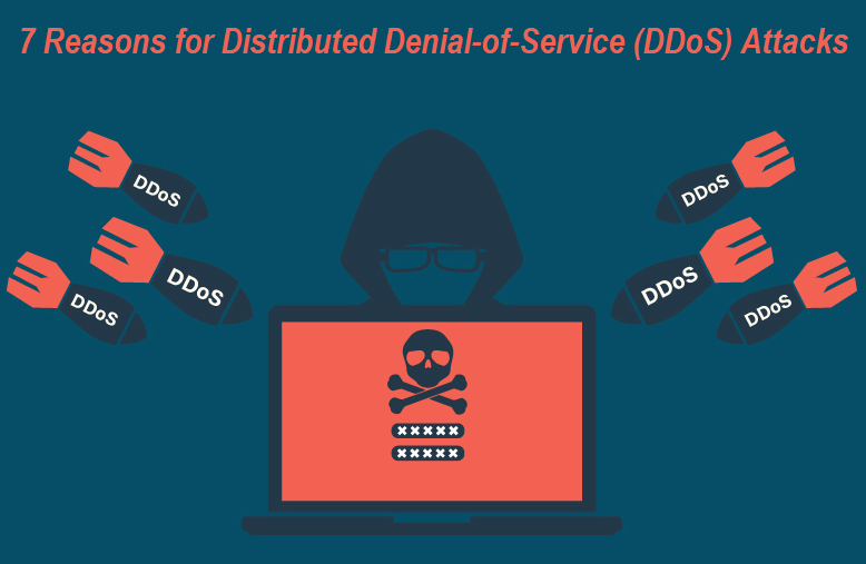 Reasons for Distributed Denial-of-Service (DDoS) Attacks