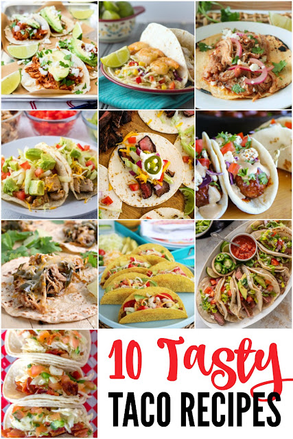 You just can't go wrong with tacos! These 10 Tasty Taco Recipes aren't just for Tuesdays, folks. ;)