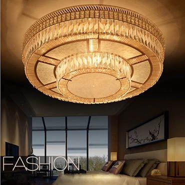 Các mẫu đèn led ốp trần trang trí cho không gian phòng khách