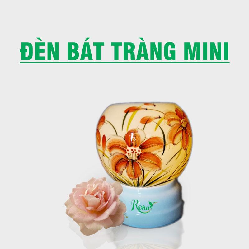 Đèn Xông Tinh Dầu Bát Tràng Mini