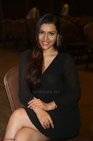 Kyra Dutta in black At Rogue Movie Audio Launch ~  029.JPG