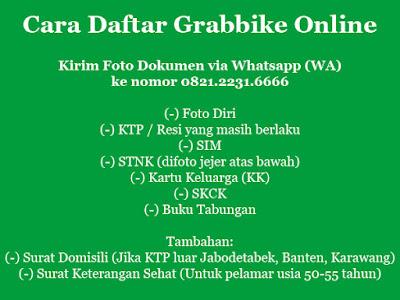 Cara Daftar Grabbike Online