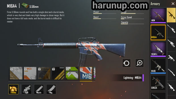 senjata M16