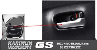 Chrome Door Handle Wagon GS