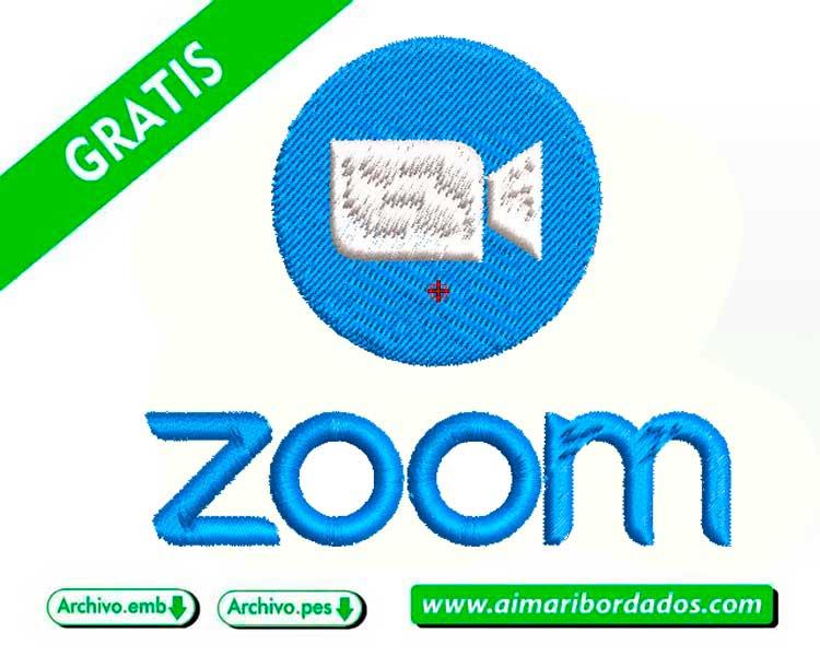 Logo Zoom para bordado descargar gratis