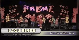 Lirik Lagu Rindu - Vita KDI Ft Fery