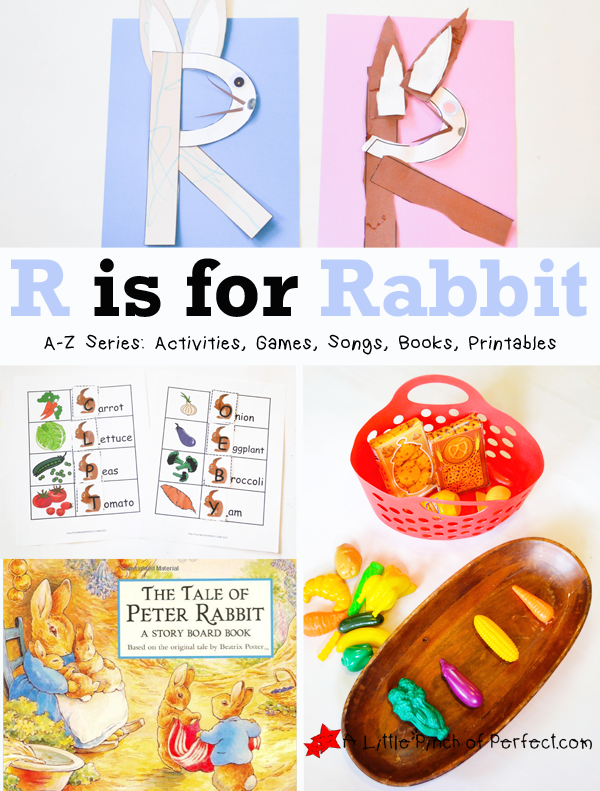 Letter Of The Week A Z Series R Is For Rabbit
