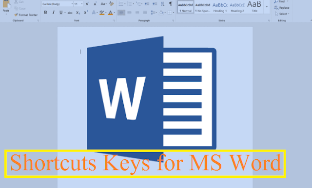 Microsoft Word key Shortcuts