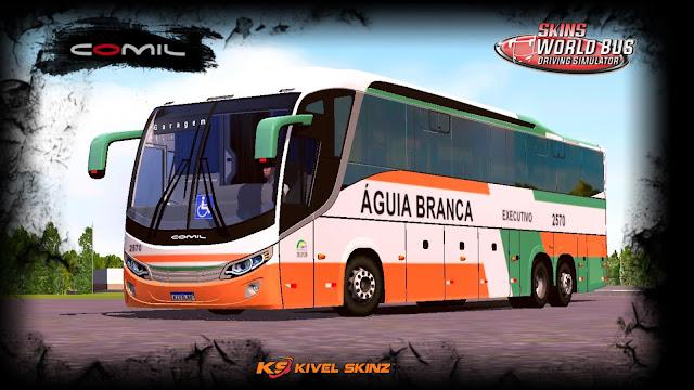 COMIL 1200 6X2 - VIAÇÃO ÁGUIA BRANCA (PINTURA ANTIGA)