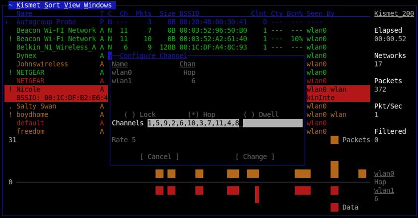 Kismet - Wifi Hacker - Anonymous Hacker